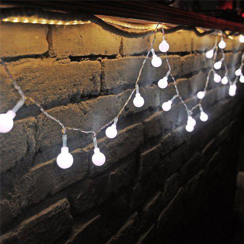 Cheap 10M 100 LEDs Decorative String Light Round Ball Shaped Holiday Party Light