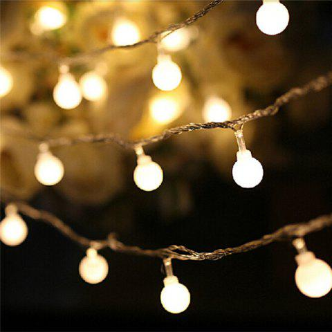 Latest 10M 100 LEDs Decorative String Light Round Ball Shaped Holiday Party Light