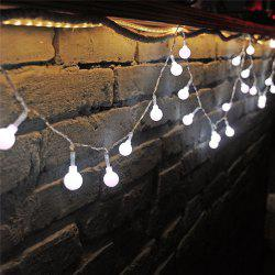 10M 100 LEDs Decorative String Light Round Ball Shaped Holiday Party Light -