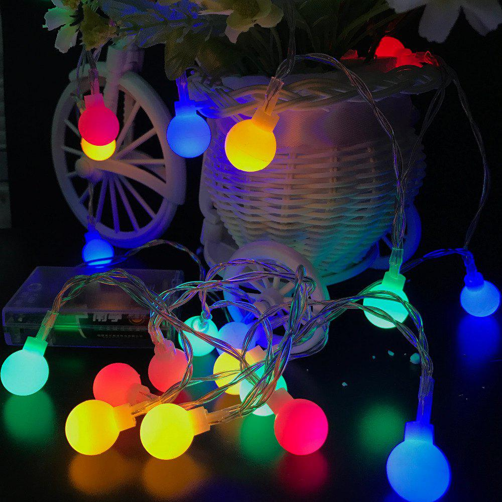 unique 10m 100 leds decorative string light round ball shaped holiday party light