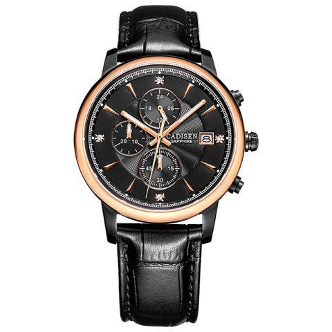 Cheap CADISEN Men Luxury Brand Quartz Analog Sports Wrist Watch