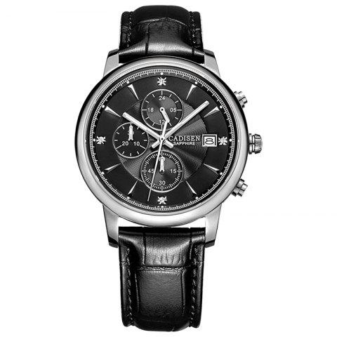 Chic CADISEN Men Luxury Brand Quartz Analog Sports Wrist Watch