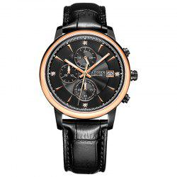 CADISEN Men Luxury Brand Quartz Analog Sports Wrist Watch -