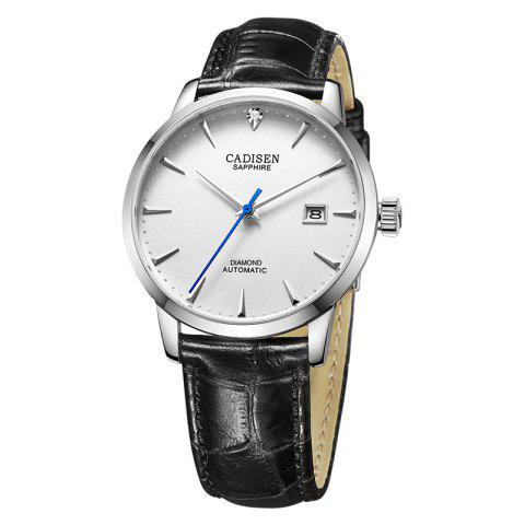 Outfit Cadisen C8097 Men Stainless Steel Brand Clock Automatic Watch
