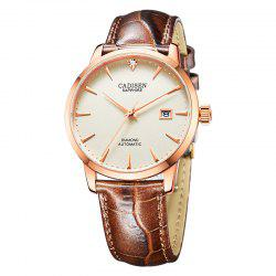 Cadisen C8097 Men Stainless Steel Brand Clock Automatic Watch -