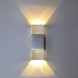 6W Acrylic Wall Lamp for Corridor Bedroom Lighting AC 85 - 265V -