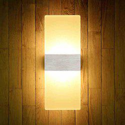 LED Fashion Creative Wall Light 6W Living Room Corridor Acrylic Lamps AC 85 - 265V -