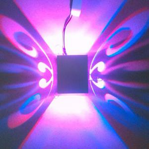 Conceal Install Wall Lamp Decoration Stage Light Butterfly Pattern -