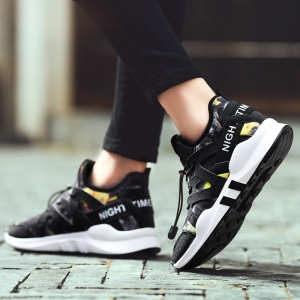 Fashion Leisure Folding Soft Breathable and Comfortable Sports Shoes -