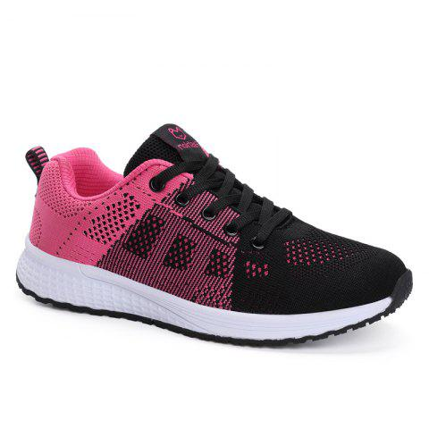 Trendy All-Match Soft Breathable and Comfortable Folding Net Shoes