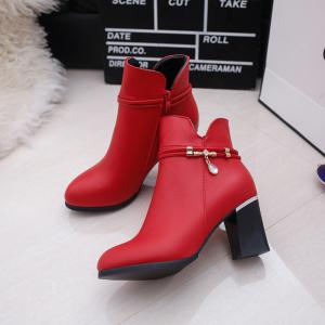 Short  Sharp  Pointed Heads Boots -