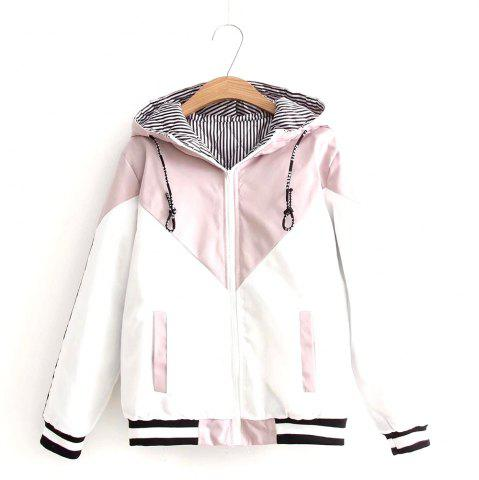 Trendy New Women's Letter Pattern Casual Hooded Cotton Garment