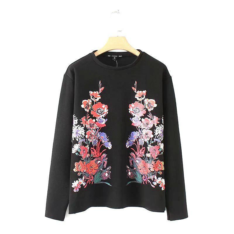 Online New Women's Flower Pressure Rubber Casual Sportswear