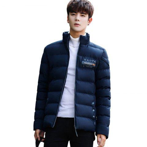 Discount Men's Stand Collar Windbreaker Jacket
