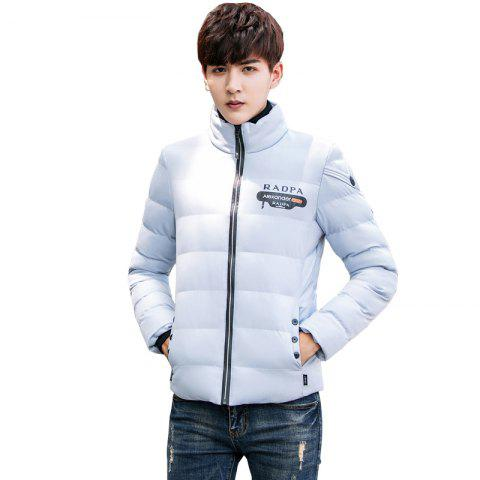 Online Men's Stand Collar Windbreaker Jacket
