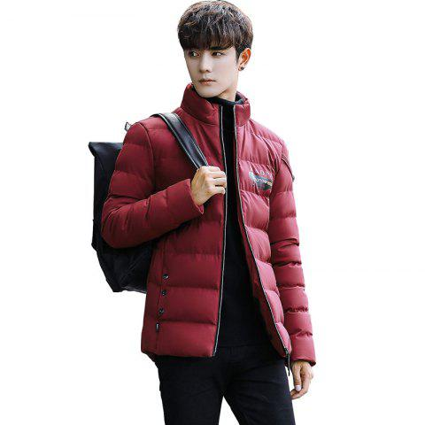 Outfits Men's Stand Collar Windbreaker Jacket
