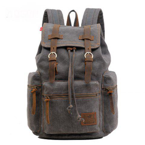 Buy AUGUR Fashion Men Backpack Vintage Canvas School Bag Travel Large Capacity