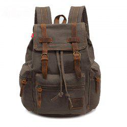 AUGUR Fashion Men Backpack Vintage Canvas School Bag Travel Large Capacity -