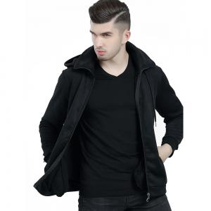 Men's Autumn Winter Long Sleeve Hooded Gauntlets Hoodies Sports Clothes Tops Coats -