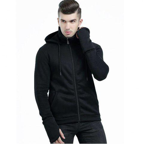 Outfits Men's Autumn Winter Long Sleeve Hooded Gauntlets Hoodies Sports Clothes Tops Coats
