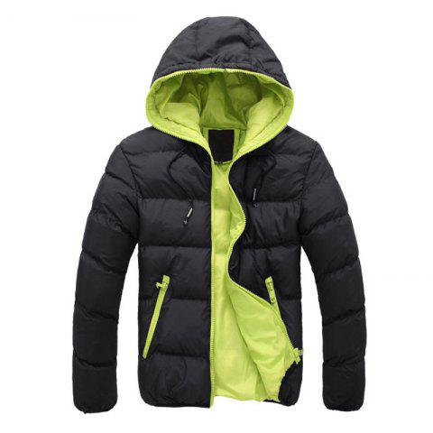 Unique Man's Hooded Jacket