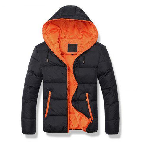 Affordable Man's Hooded Jacket