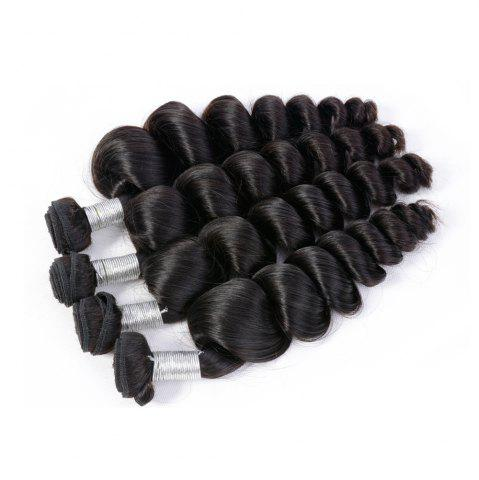 Outfits Brazilian Unprocessed Loose Wave Natural Color Virgin Human Hair Extension 1 bundles