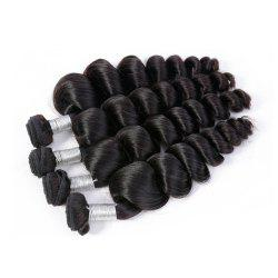 Brazilian Unprocessed Loose Wave Natural Color Virgin Human Hair Extension 1 bundles -