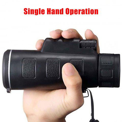 Shops Telescope Compact Adjustable Focus Single Tube Portable Outdoor Travel Monocular HD Scope BAK4 Prism FMC for Bird Watching Camping Hunting