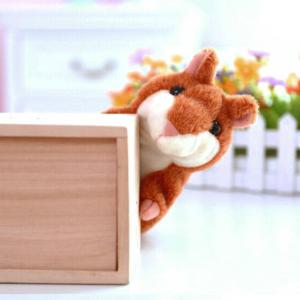 Talking Hamster Mouse Educational Toy Record Hamster Sound Recording Repeats What You Say Plush Toys -