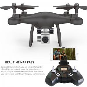 Wifi fpv Remote Control RC Drone S10 with 720P Wide Camera Headless Mode One-key Return Remote Control RC -