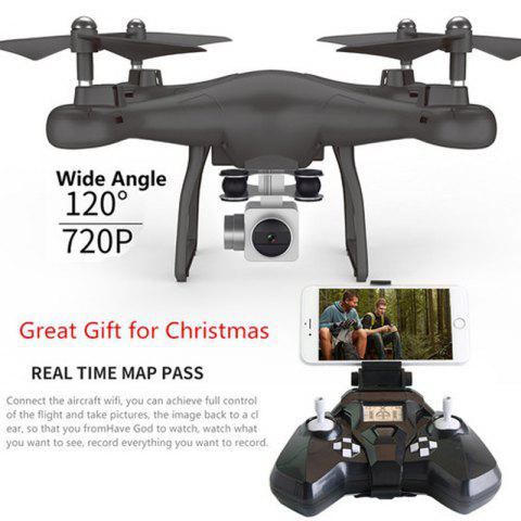 Shops Wifi fpv Remote Control RC Drone S10 with 720P Wide Camera Headless Mode One-key Return Remote Control RC