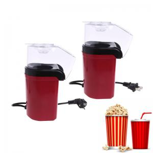 Popcorn Machine, Popcorn Maker, Hot Air Popcorn Popper No Oil Needed, With Wide Mouth Design and 1200W Power, Includes Measuring Cup and Removable Lid -