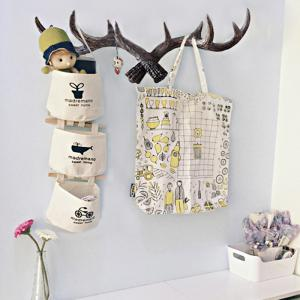 Retro Country Style Resin Antlers Wall Hanging Wall Decoration Creative Clothes Hat Support for Home -