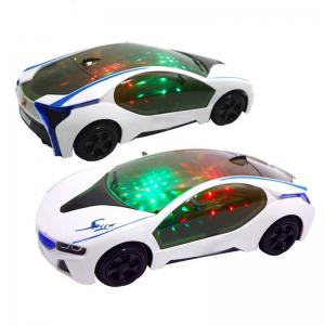 3D LED Flashing Light Car Toys Music Sound Electric Toy -