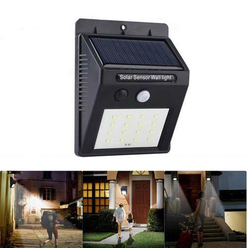 Store Solar Powered Waterproof 16 LED Motion Sensor Light for Porch, Garden, Yard, Patio, Pathway, Home