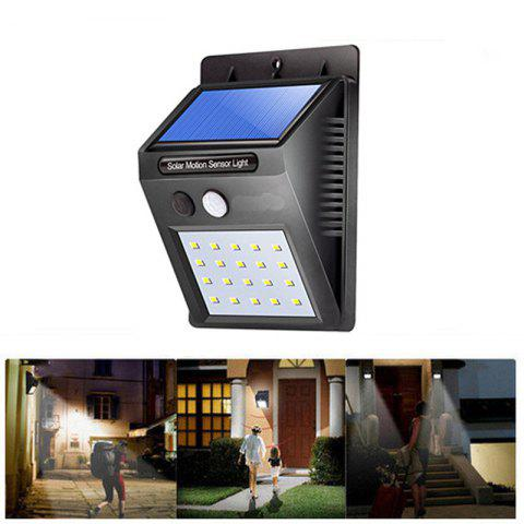 Unique Great Gift Solar Powered Waterproof 20 LED Motion Sensor Wall Light for Patio Garden