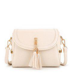 Women's Crossbody Trendy Solid Metal Ornament Pendant Sterling Bag -