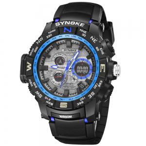 SYNOKE 6509 Outdoor Sports Mountaineering Student Male Electronic Watch -