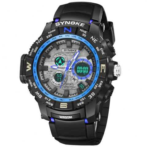 Outfits SYNOKE 6509 Outdoor Sports Mountaineering Student Male Electronic Watch