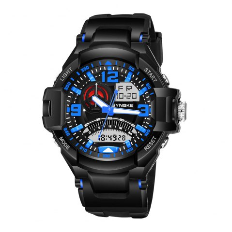 Outfits SYNOKE 67876 Trendy Waterproof Multifunctionable Men Watch