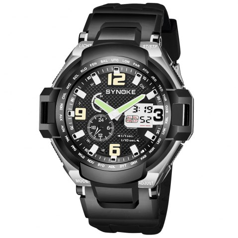 Store SYNOKE 67606 Outdoor Multifunctionable Student Electronic Male Watch