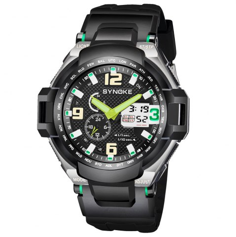 Shop SYNOKE 67606 Outdoor Multifunctionable Student Electronic Male Watch