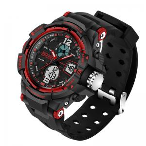 SANDA Large 5319 Fashion Outdoor Sports Men Watch Luminous Watch with Box -