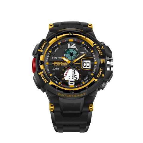 Best SANDA Large 5319 Fashion Outdoor Sports Men Watch Luminous Watch with Box