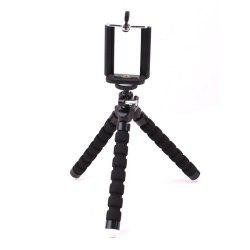 Universal Compact Tripod Stand Flexible Octopus Cell Phone Camera Selfie Stick Tripod Mount for Smartphone / Digital Camera -