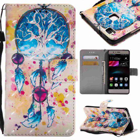 Outfits Explosions 3D Painted PU Phone Case for HUAWEI P9 Lite