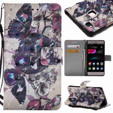 New Explosions 3D Painted PU Phone Case for HUAWEI P9 Lite