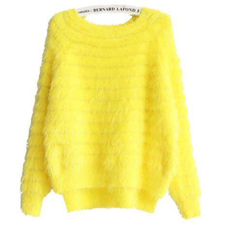 Hot Imitation Mink Cashmere Pullover Sweater