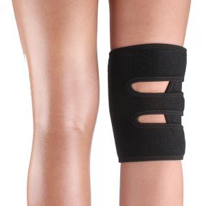 Shou Xin SX615 Sport Leg Knee Patella Support Brace Wrap Protector Pad Sleeve - Black -